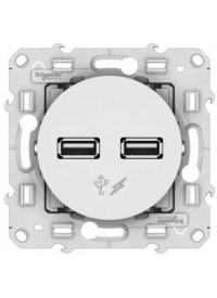 Mécanisme Prise Chargeur USB Double Odace