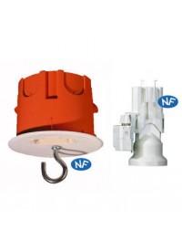Kit plafond + douille DCL luminaire Capri Complète