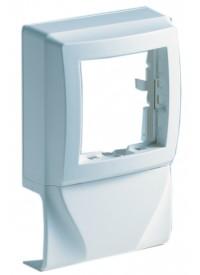 Adaptateur simple pour appareillage saillie Schneider - Moulure 22x12.5mm
