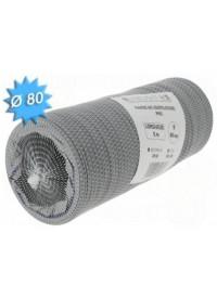 Gaine souple PVC Diam 80 Long 6m Unelvent