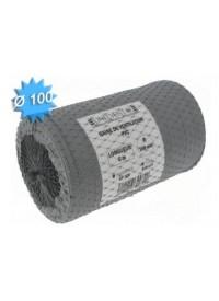 Gaine souple PVC Diam 100 Long 6m Unelvent