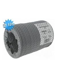Gaine souple PVC Diam 125 Long 6m Unelvent