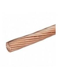 Cable de terre en cuivre nu 25mm2 au mètre