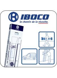 Goulotte Technique de Logement (GTL) 2 Compartiments Iboco Réf 08700
