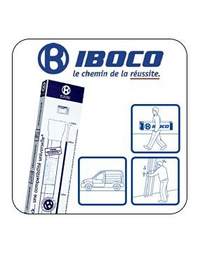 Goulotte Technique de Logement (GTL) 2 Compartiments Pliante Iboco Réf 08701