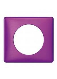 Plaque céliane - Métal - Violet Irisé - Legrand