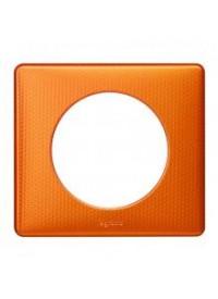 Plaque céliane - Métal - Orange Snake - Legrand