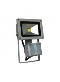 Projecteur LED avec détecteur 10W 6000K Gris VISION-EL