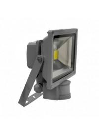 Projecteur LED avec détecteur 20W 6000K Gris VISION-EL