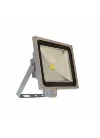Projecteur LED avec détecteur 50W 6000K Gris VISION-EL