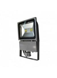 Projecteur LED avec détecteur 100W 6000K Gris VISION-EL