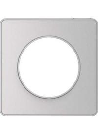 Plaque Odace Touch - Aluminium - Schneider
