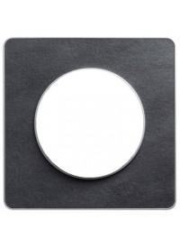 Plaque Odace Touch - Ardoise - Schneider