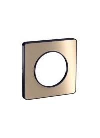 Plaque Odace Touch - Bronze Brossé- Schneider