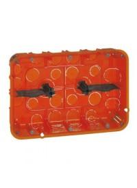 Boîte multimatériaux 2x3 postes Prof 40mm Legrand
