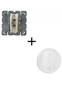 Mécanisme + Enjoliveur Interrupteur VMC Céliane Legrand