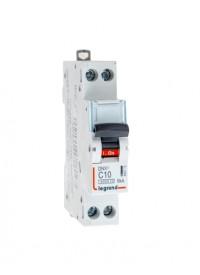 Disjoncteur Phase + Neutre 10A Legrand DNX 3 Vis