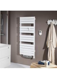 Sèche-serviettes Adelis blanc 500 + 1000 watts