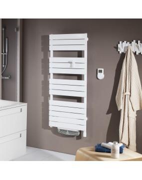 Sèche-serviettes Adelis blanc 750 + 1000 watts