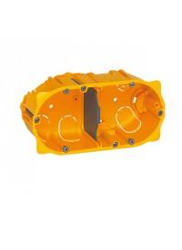 Boîte d'encastrement Cloisons Sèches 2 postes Prof 50mm Legrand