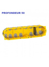Boite d'encastement 4 postes Batibox Energy Legrand Prof 50mm